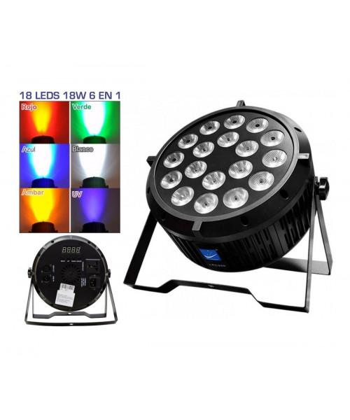 REFLECTOR 18LED*8W RGBWA+UV