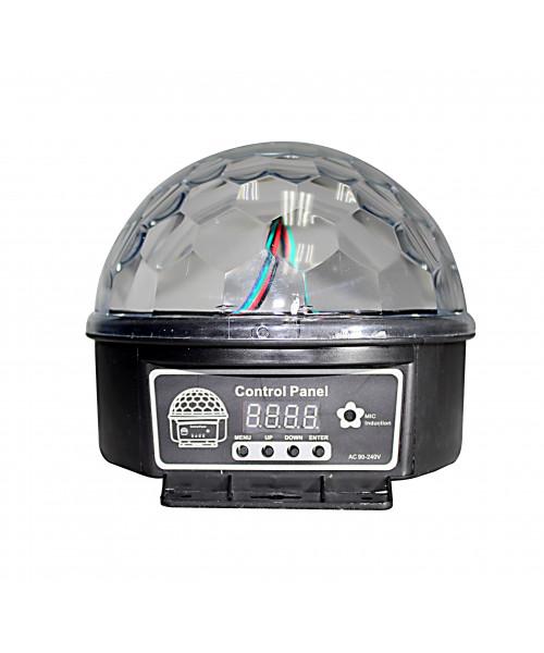 ESFERA 6 LED*3W (RGBWOP)