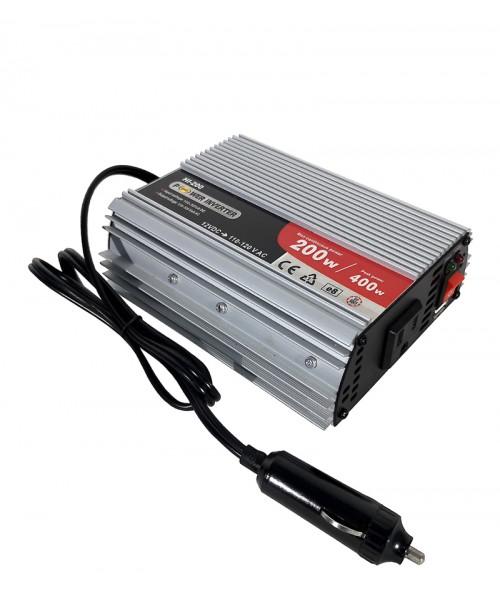 INVERSOR 200W CON USB